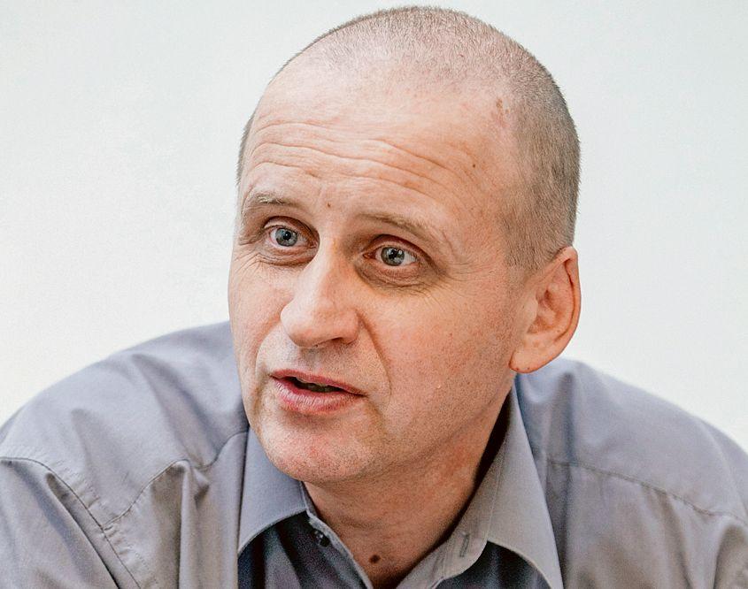 14.7.2016 - Komárno - Imre Andruskó - riaditeľ gymnázia Hansa Selyeho vyučovacím jazykom maďarským v Komarne.