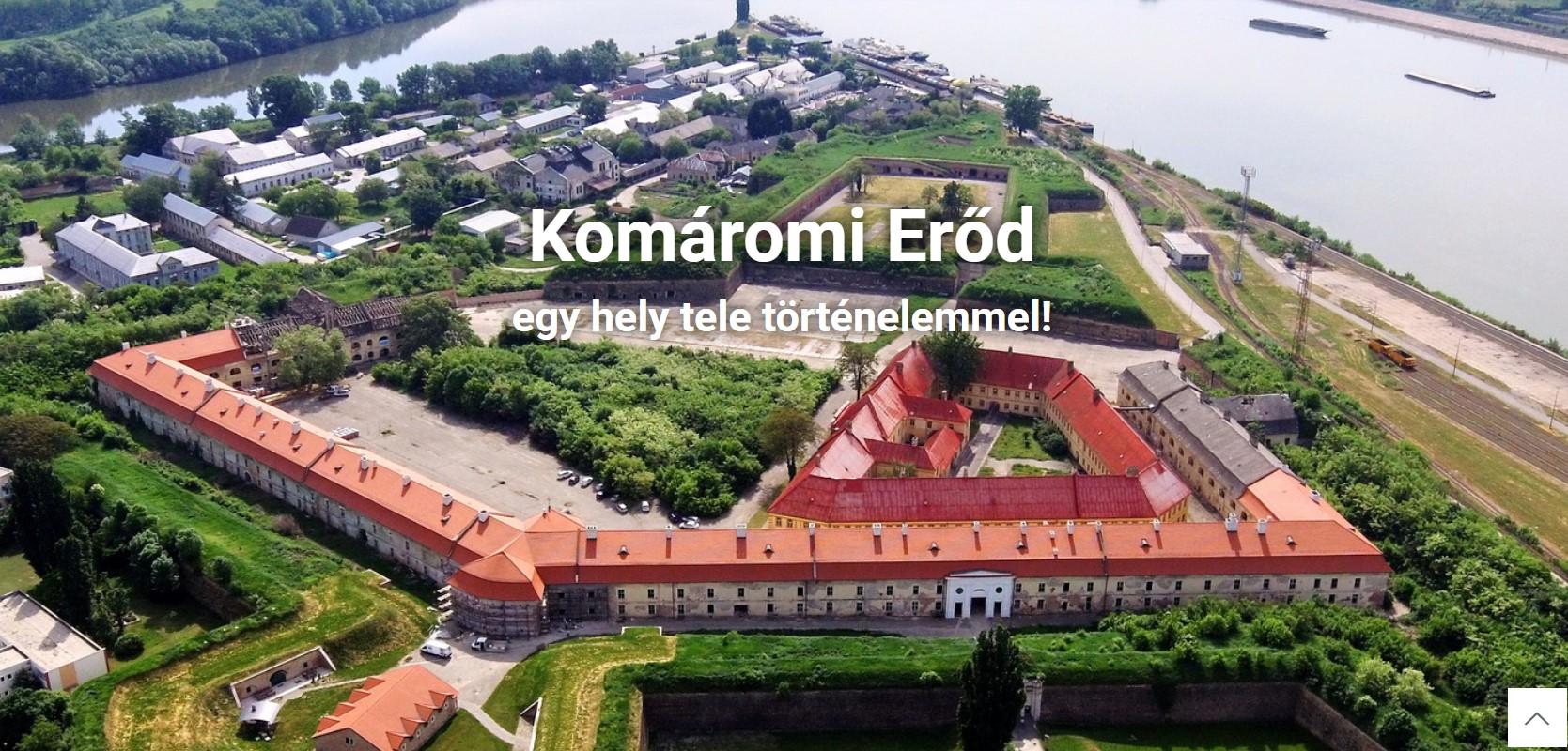 komáromi erőd hivatalos oldala: