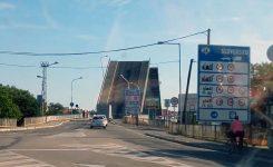 Június elejétől lezárják a felnyitható kis Duna-hidat