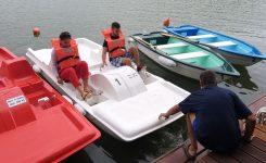 Átadták a csónak- és vizibiciklikölcsönzőt